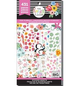 Pegatinas Fun Florals Happy Planner Value Pack
