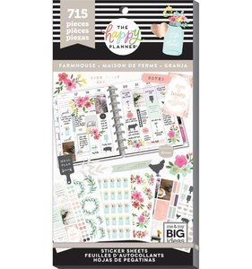 Pegatinas Farmhouse Happy Planner Value Pack
