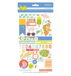 Pegatinas 6x12 Tutti Frutti