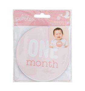 Pegatinas meses Lullaby Girl