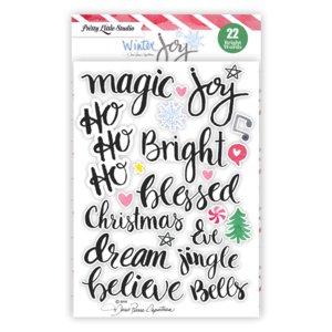 Pegatinas Jingle Bell Words
