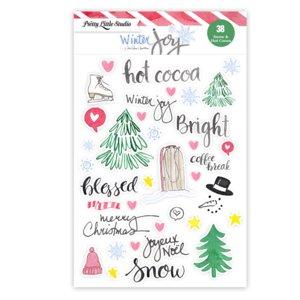 Pegatinas Snow & Hot Cocoa