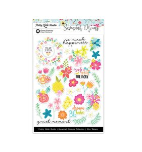 Pegatinas Savannah Dreams Floral Fantasy Clear