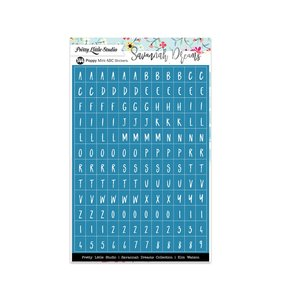 Alfabeto Savannah Dreams Poppy Blue