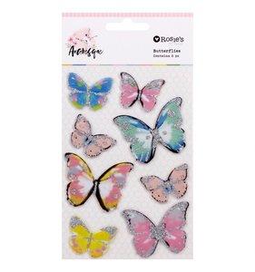 Pegatinas mariposas 3D Arabesque