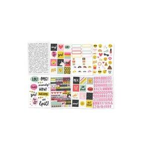 Libreto pegatinas 4x6 Emoji Love