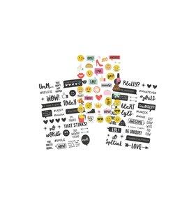 Pegatinas Clear Emoji Love