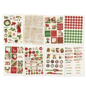 Libreto de pegatinas Simple Vintage Christmas
