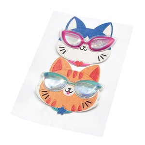 Pegatina Shaker Sticko Cat Glasses