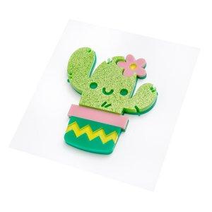 Pegatina Metacrilato Sticko  Friendly Cactus