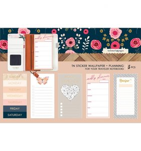 Wallpaper Planning Stickers Love is in the Air