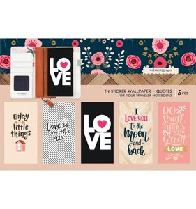 Wallpaper Quotes Stickers Love is in the Air