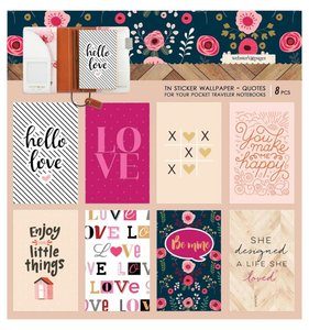 Wallpaper Quotes Stickers Pocket Travel Love