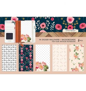 Wallpaper Background Stickers Love is in the Air