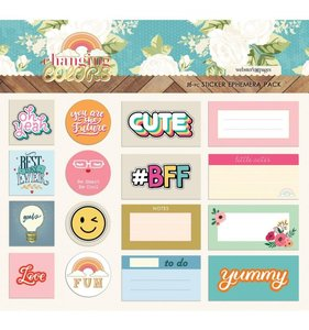Ephemera Stickers Changing Colors