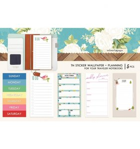 Wallpaper Planning Stickers Changing Colors