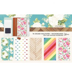 Wallpaper Background Stickers Changing Colors