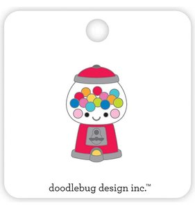 Pin Doodlebug Bubblegum Machine