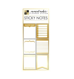 Post its con foil dorado Moment Maker