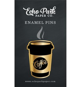 Enamel Pin Coffee Cup