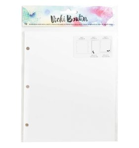 Páginas diario blancas Vicki Boutin