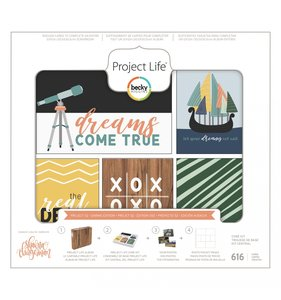 Tarjetas Project Life Daring Core Kit