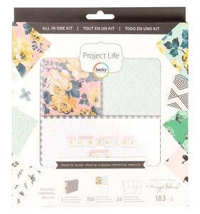 Kit Álbum Project Life Bloom