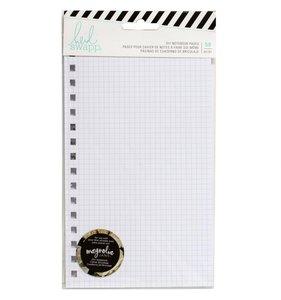 Páginas para cuaderno de cuadritos Magnolia Jane