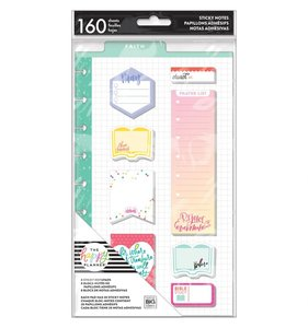 Post it Faith Happy Planner