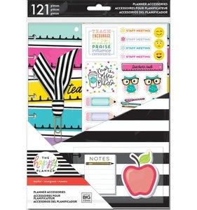Pack accesorios Teacher para Happy Planner estándar