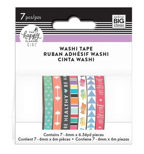 Set washi tapes Healthy Hero Happy Planner