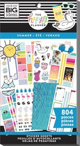 Pegatinas Summer Happy Planner Value Pack