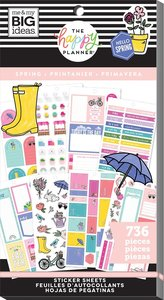 Pegatinas Spring Happy Planner Value Pack