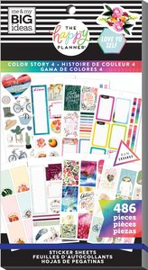 Pegatinas Color Story Happy Planner Value Pack
