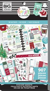Pegatinas Winter Happy Planner Value Pack