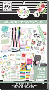 Pegatinas Horizontal Layout Happy Planner Value Pack