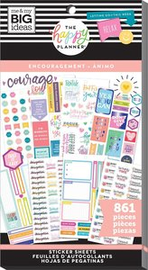Pegatinas Encouragement Happy Planner Value Pack