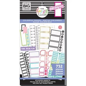 Pegatinas Colorful Happy Planner Value Pack