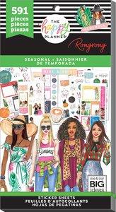 Pegatinas Seasonal Rongrong Happy Planner Value Pack