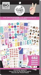 Pegatinas The Encourager Happy Planner Value Pack