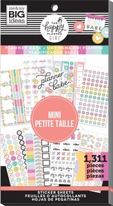 Pegatinas Mini Planner Babe Happy Planner Value Pack
