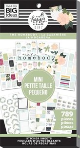 Pegatinas Mini The Homebody Happy Planner Value Pack