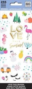 Libreto mini pegatinas Love this season