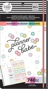 Libreto pegatinas y post its Planner Babe Happy Planner