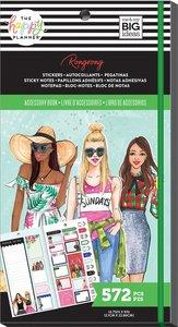 Libreto pegatinas y post its Rongrong Seasonal Happy Planner