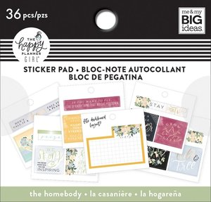 Mini pad de pegatinas The homebody Happy Planner