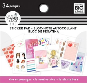 Mini pad de pegatinas The encourager Happy Planner