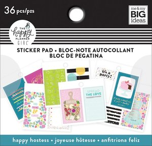 Mini pad de pegatinas Happy Hostess Happy Planner