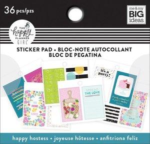 Mini pad de pegatinas Happy Hostess Happy Planner