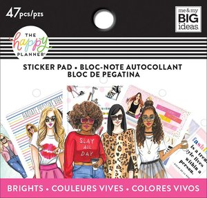 Mini pad de pegatinas Rongrong Brights Happy Planner